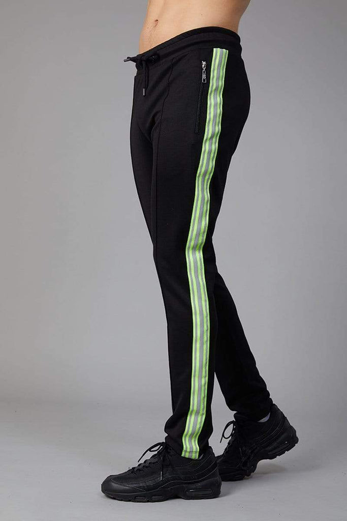 Criminal Damage JOGGERS Ranger Trouser - Black/Neon