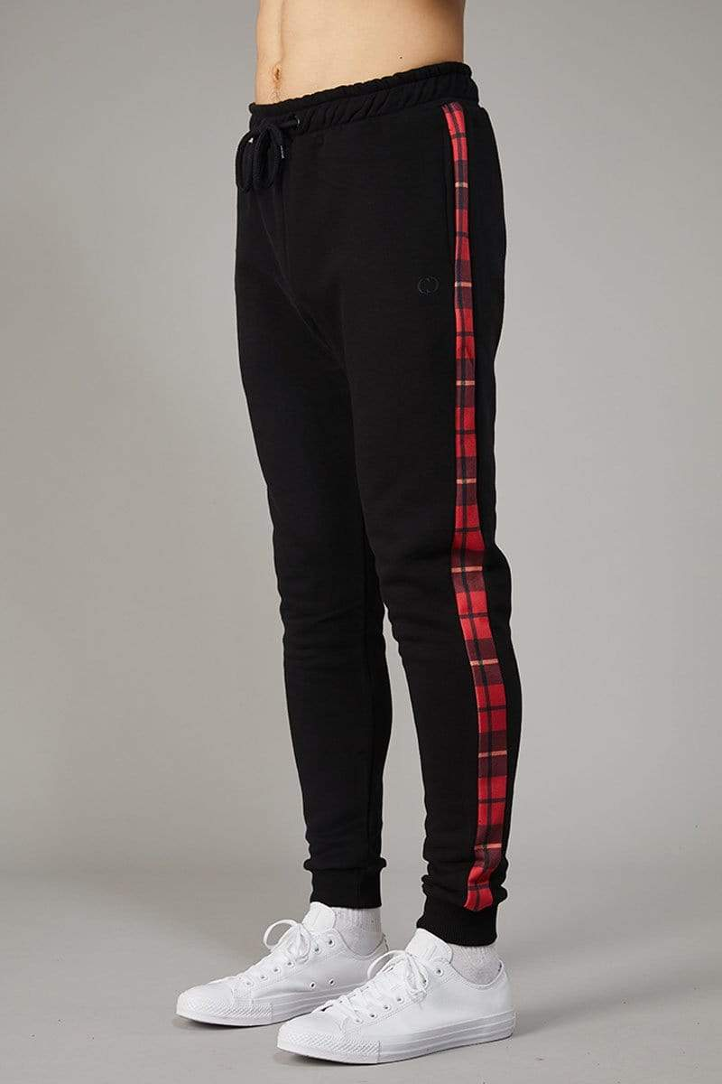 Criminal Damage JOGGERS Red / XS Check Jogger