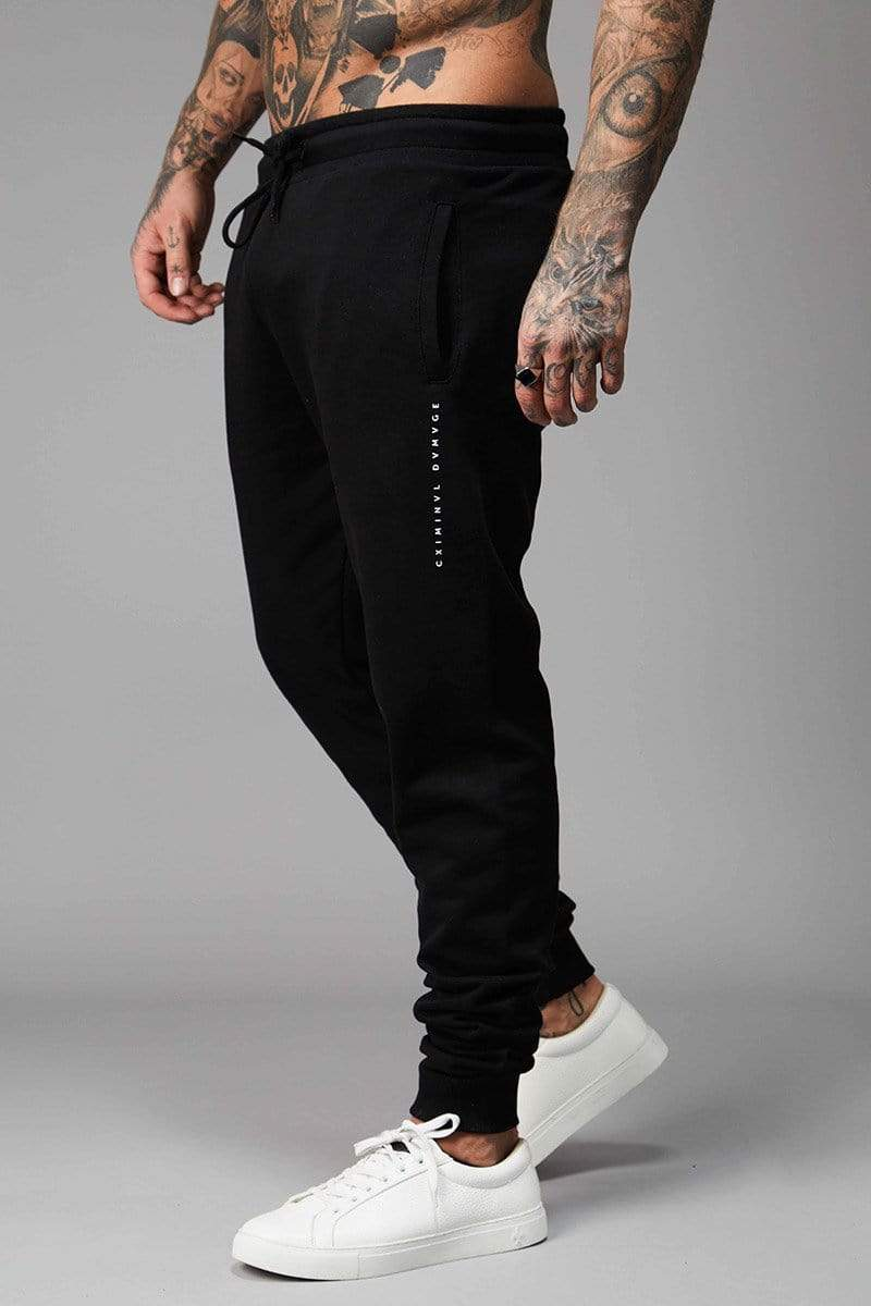 Criminal Damage JOGGERS Rosa Jogger - Black