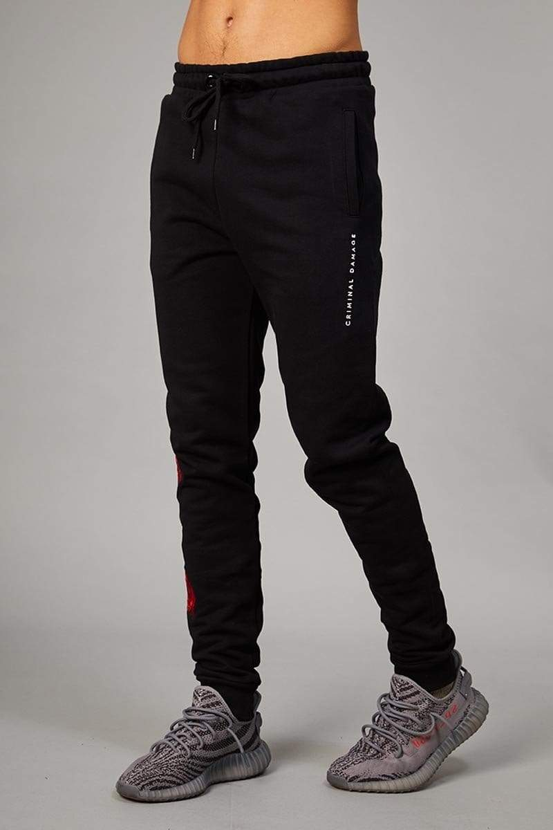 Criminal Damage JOGGERS Thorn Jogger - Black/Multi