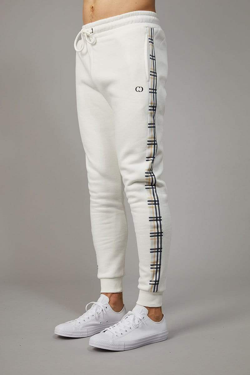 Criminal Damage JOGGERS White / XS Check Jogger