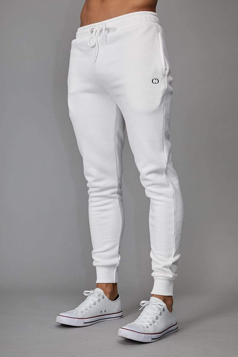 Criminal Damage JOGGERS White / XS Muscle Core Jogger