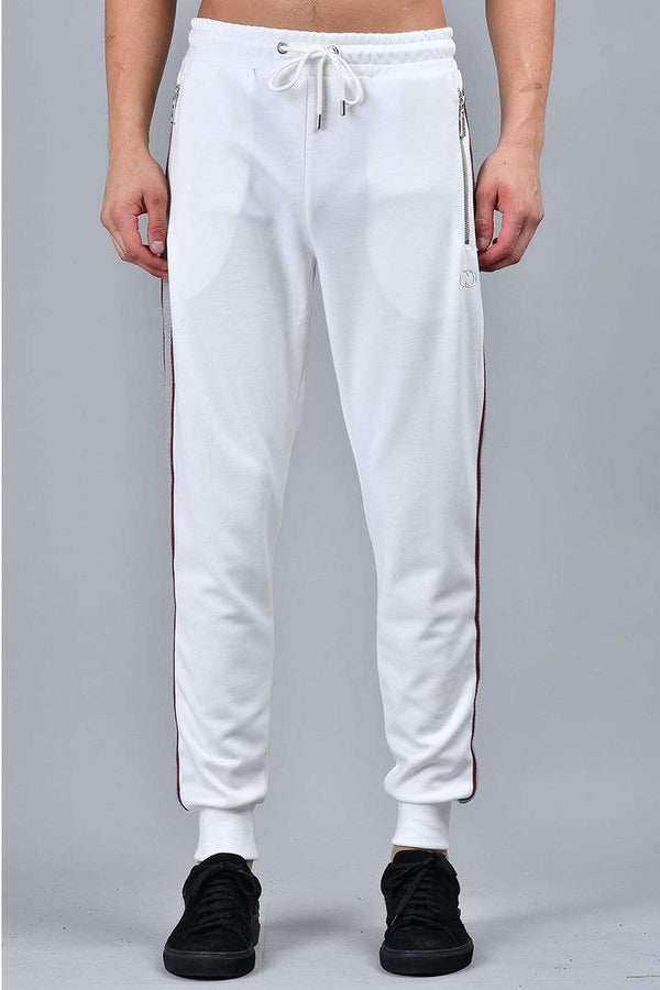 Criminal Damage JOGGERS White / XS Wise Jogger - White