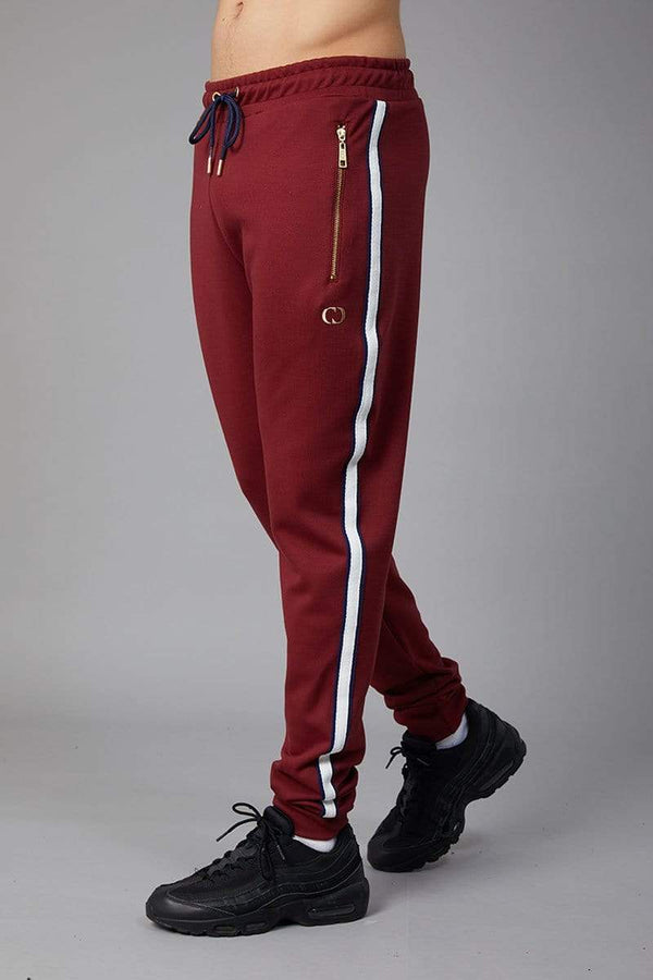Criminal Damage JOGGERS Wise Jogger - Burgundy