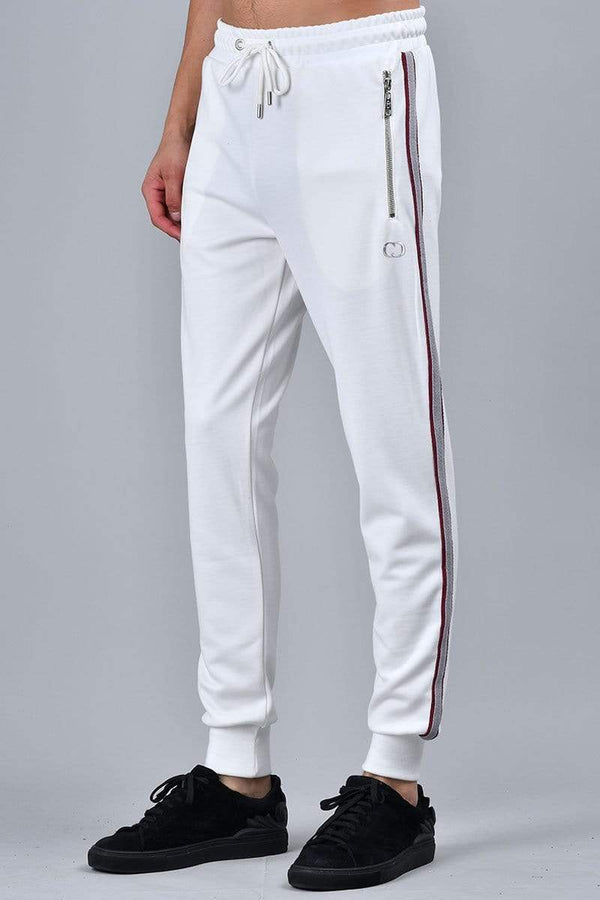 Criminal Damage JOGGERS Wise Jogger - White