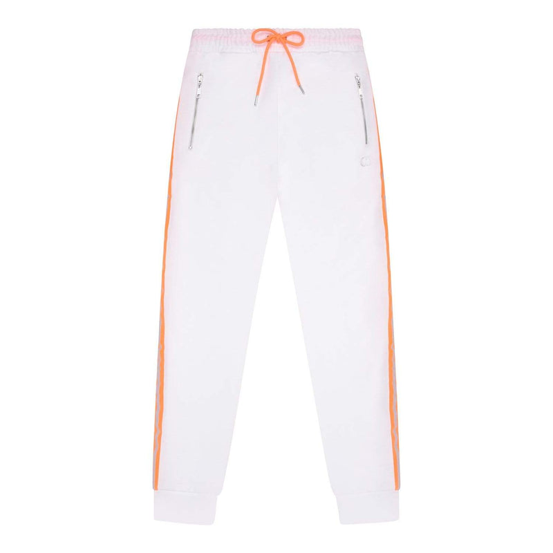 Wise Jogger - White/Reflective Orange