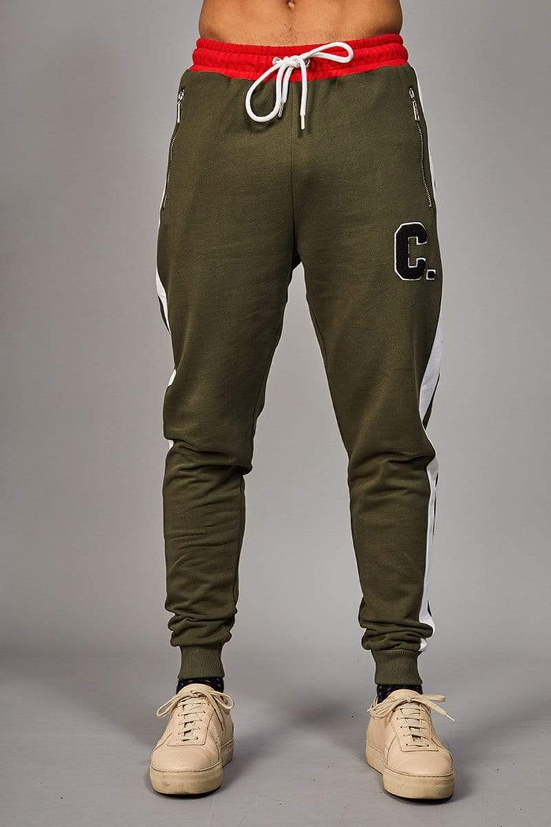 Criminal Damage JOGGERS XS / OLIVE Campus Jogger