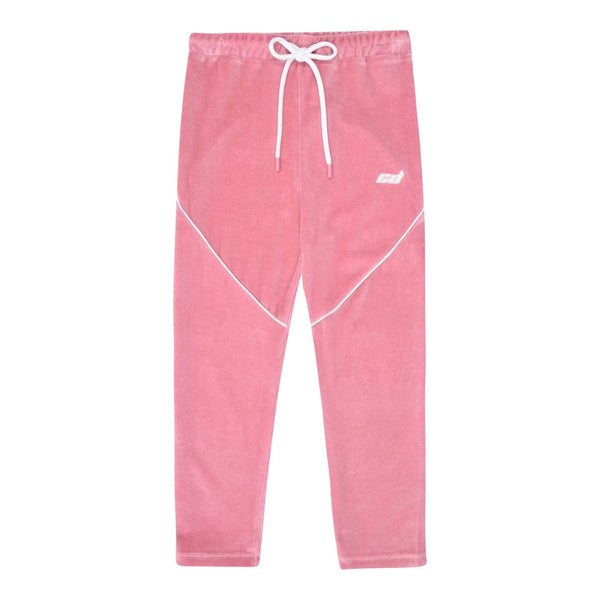 Velour Legging - Pink