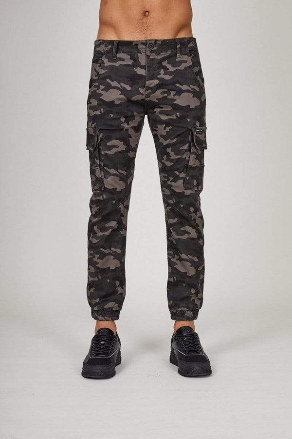 Criminal Damage Pants Cargo Pant - Green Camo