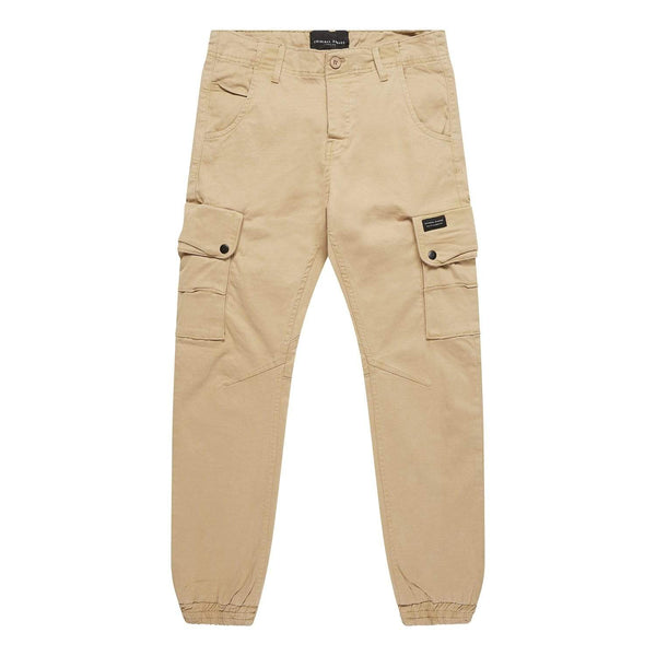 Criminal Damage Pants Cargo Pant - Stone