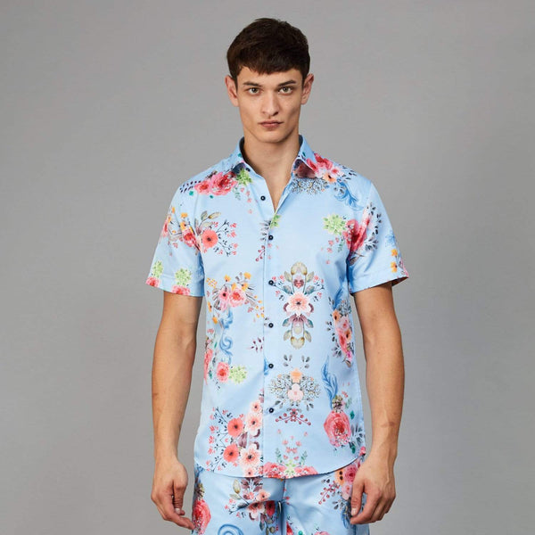Connor SS Shirt - Blue