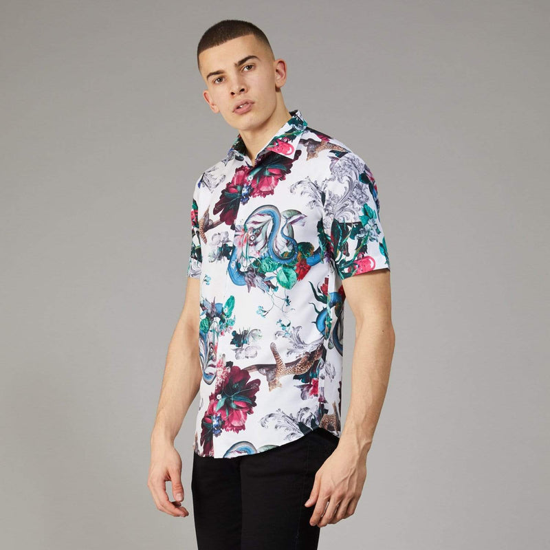 Dominic SS Shirt - White / Multi