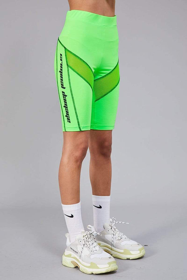 Criminal Damage SHORTS Alyssa Legging Short - Green