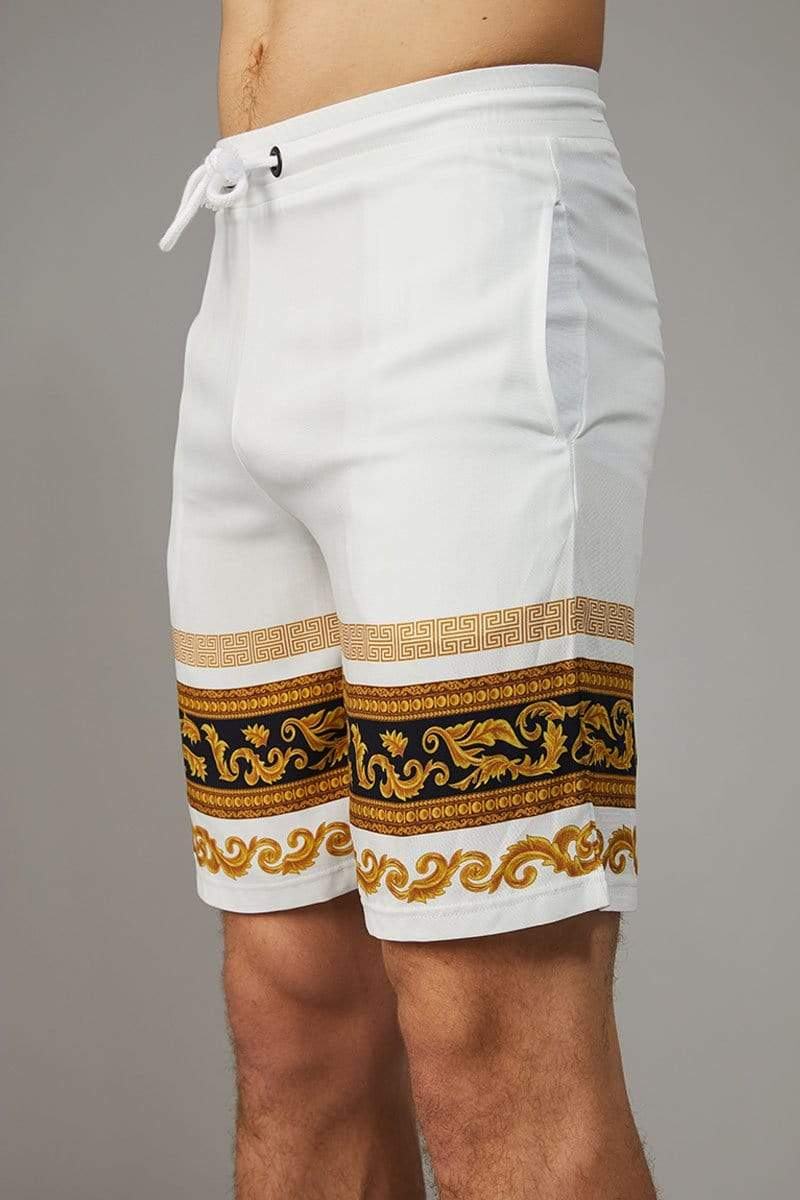 Criminal Damage SHORTS Apollo Shorts - White