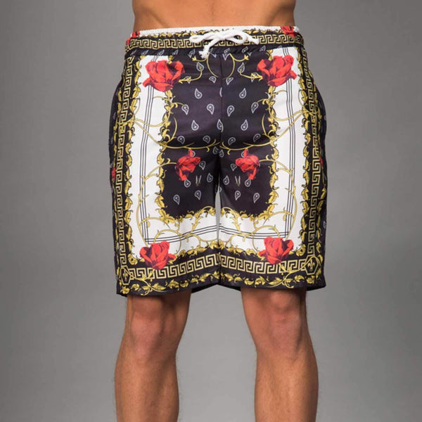 Avi Short - Black/ Gold