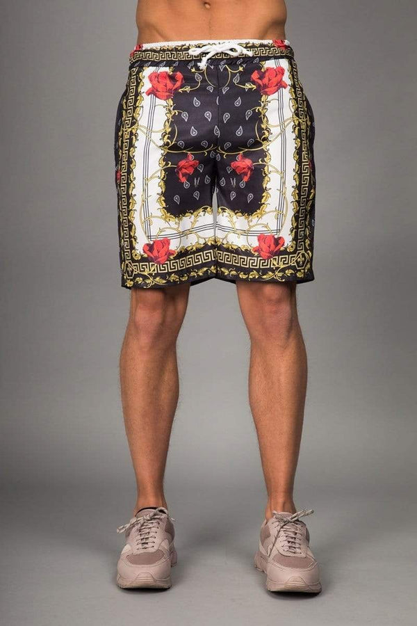 Criminal Damage SHORTS Avi Short - Black/ Gold