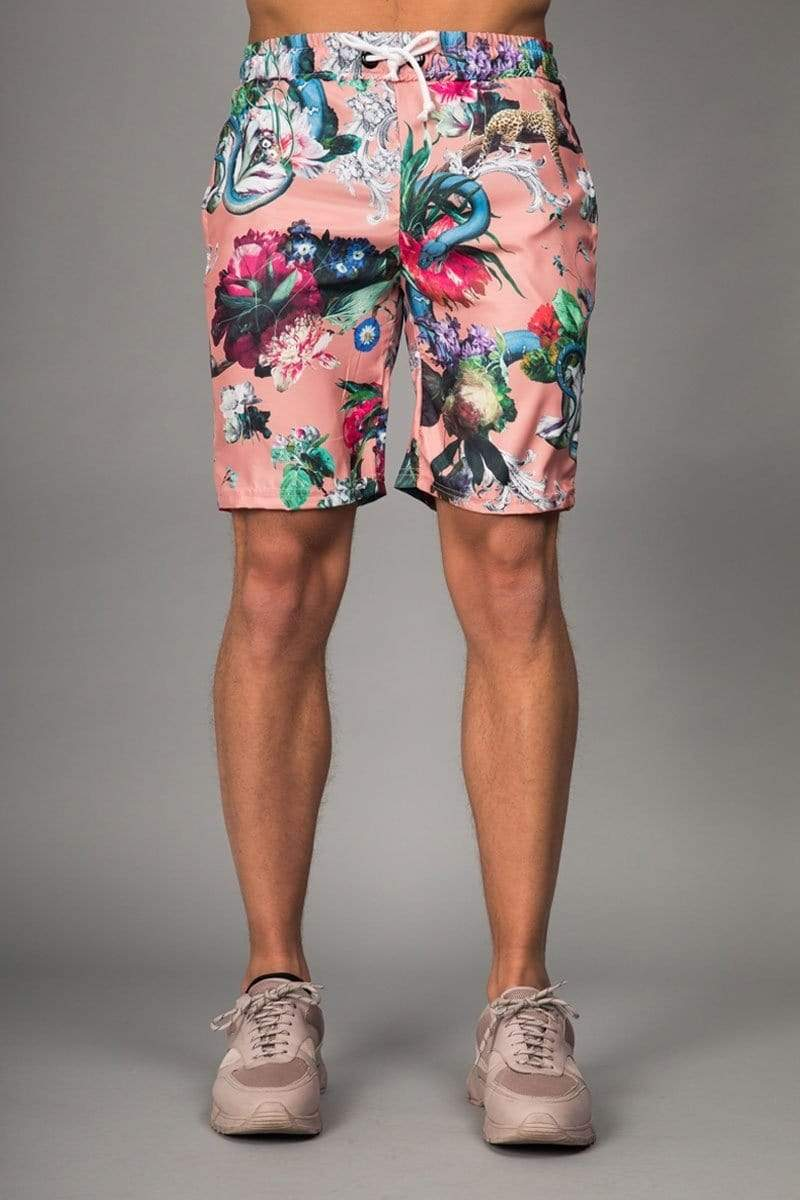 Criminal Damage SHORTS Dominic Short - Pink/ Multi