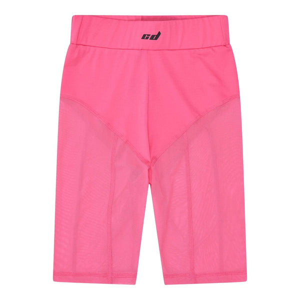 Mesh Legging Short - Pink