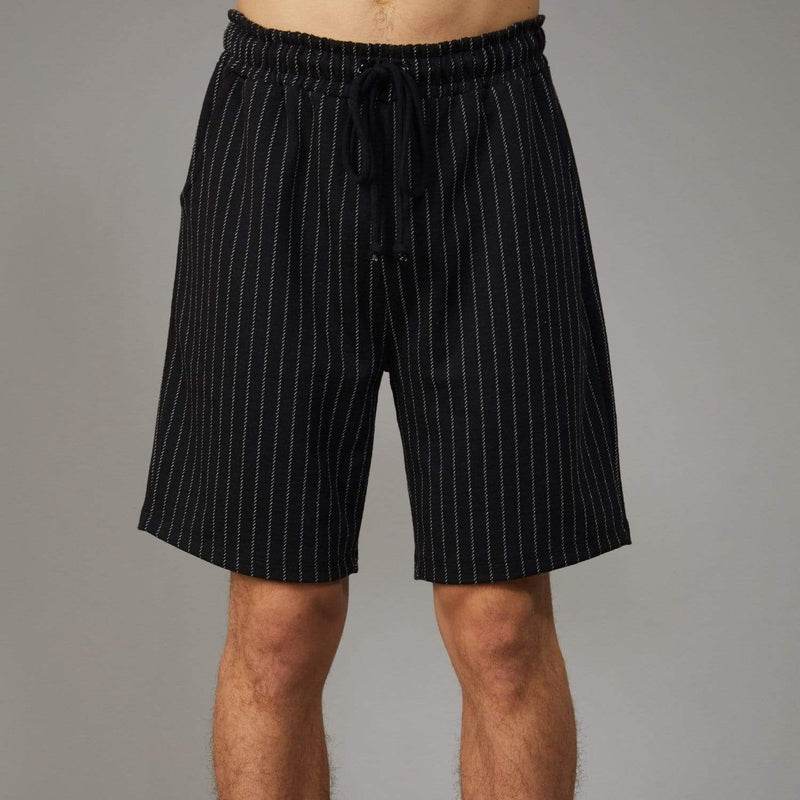 Oversized Pin Shorts - Black