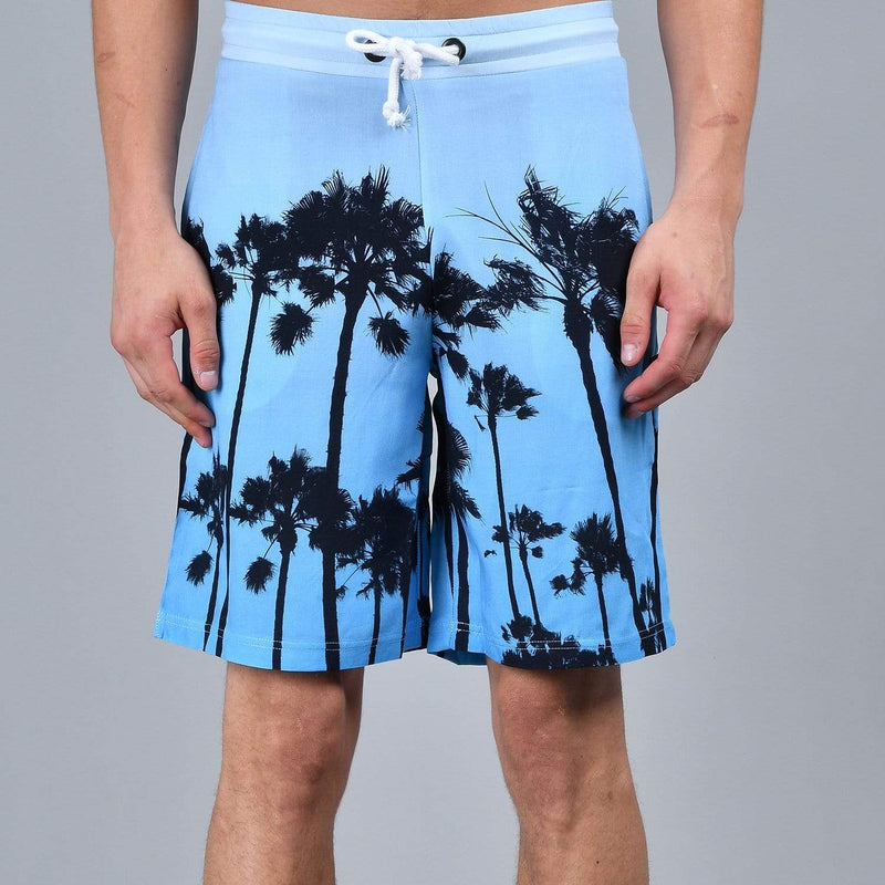 Palm Shorts - Blue