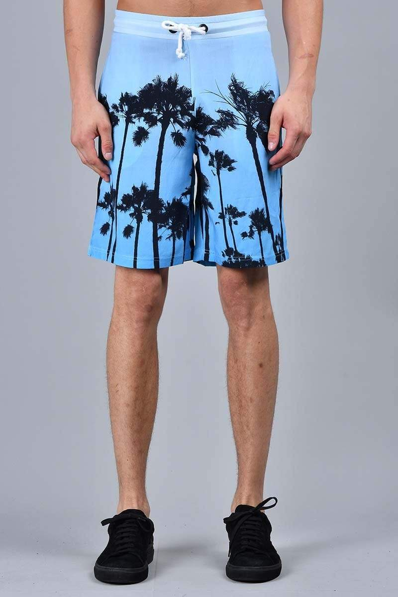 Criminal Damage SHORTS XS Palm Shorts - Blue