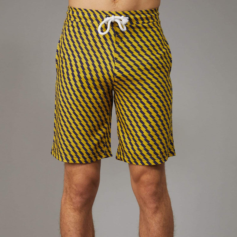 Zizi Shorts - Yellow / Navy