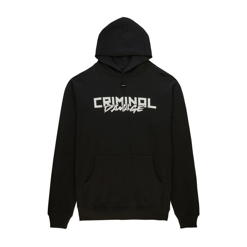 Criminal Damage Store HOODIE Lemon Hood - Black