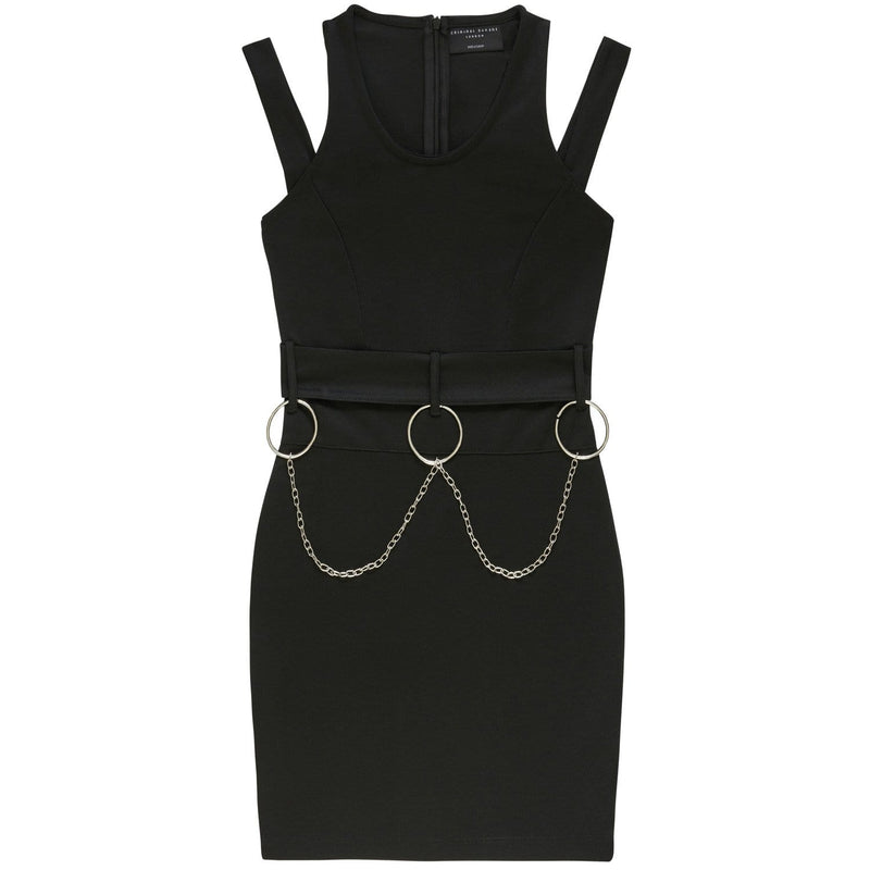 METAL DRESS - BLACK
