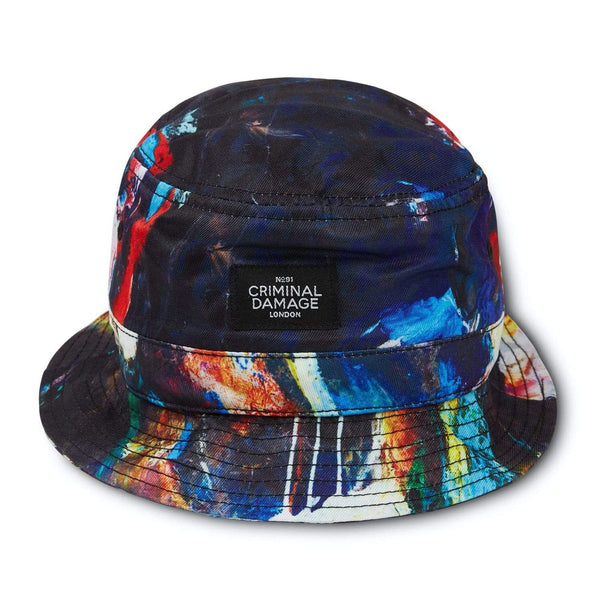 Criminal Damage Store OS Abstar Bucket Hat - Multi