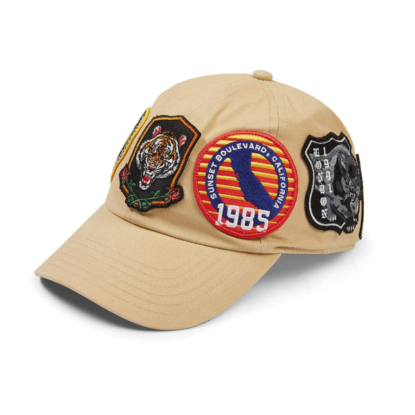 Criminal Damage Store OS Shield Cap - Nude
