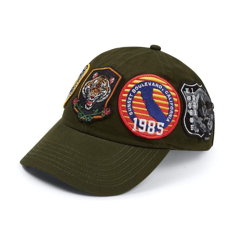 Criminal Damage Store OS Shield Cap - Olive