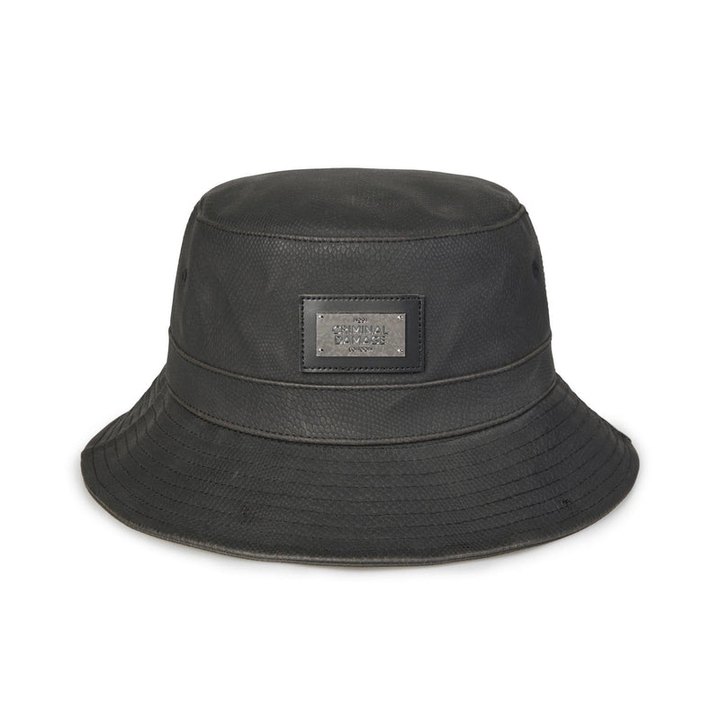 Snake Bucket Hat - Black