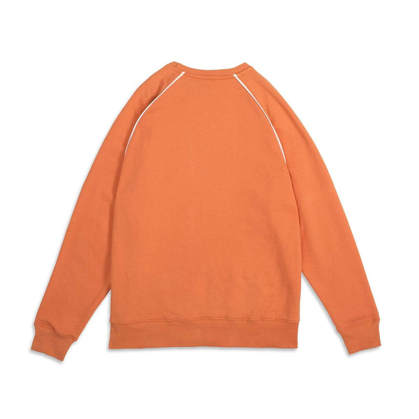 Criminal Damage Store PIPING SWEAT ORANGE - SIZE M