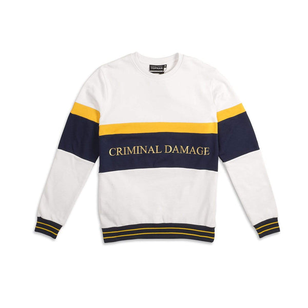 Criminal Damage Store SAMPLE SWEATSHIRT 2- SIZE M