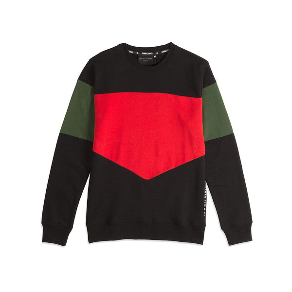 COLOUR BLOCK SWEAT MULTI - SIZE M