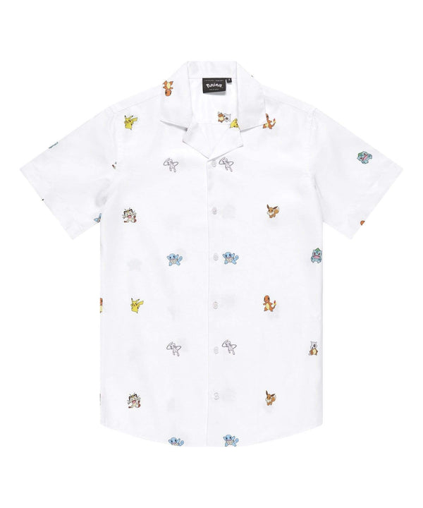 Criminal Damage store SHIRT Pokemon Repeat Shirt - White