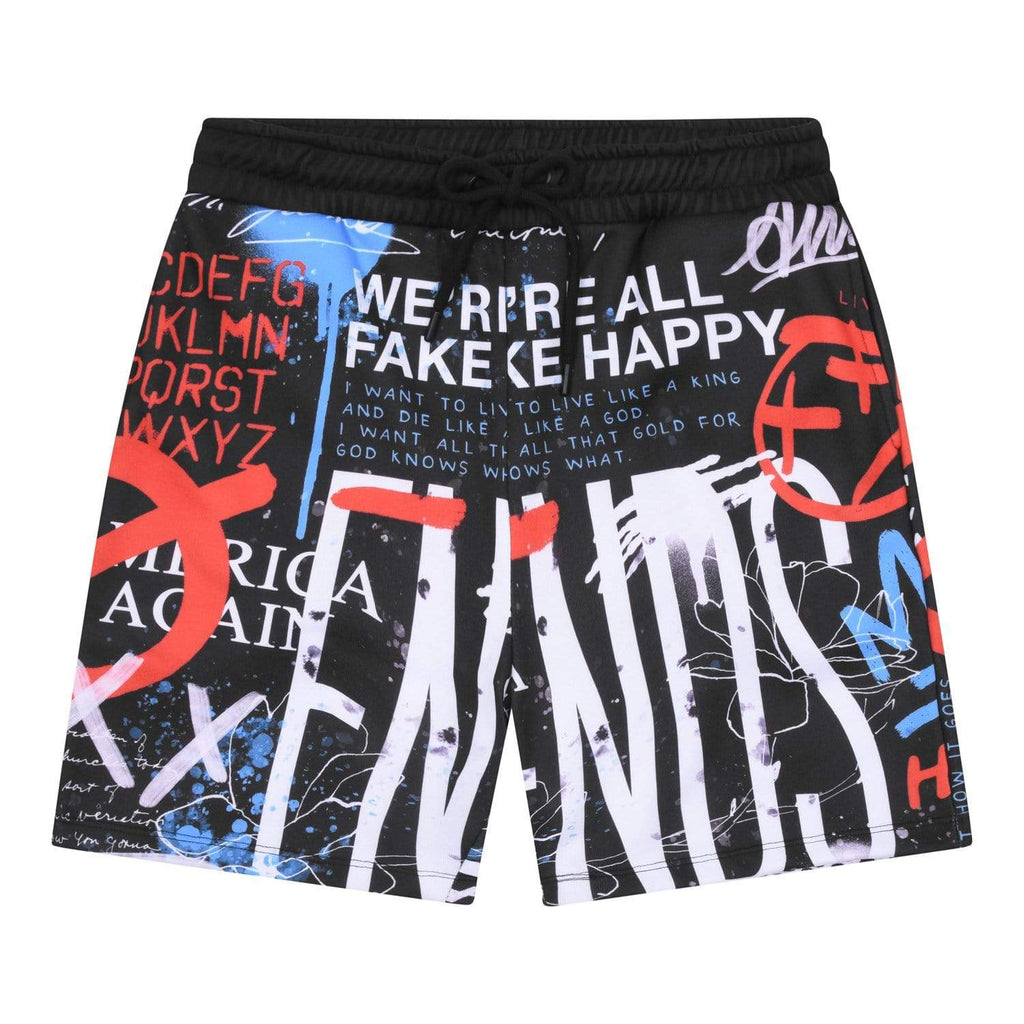 Criminal Damage Store SHORTS Graffiti Short