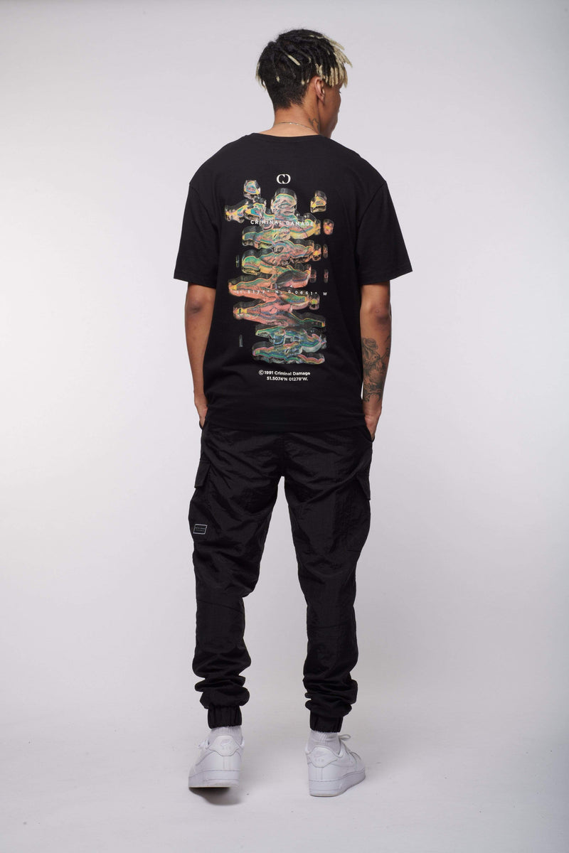 Criminal Damage Store T-SHIRT DNA TEE - BLACK
