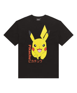 Criminal Damage store T-SHIRT Pokemon Pikachu Tee - Black