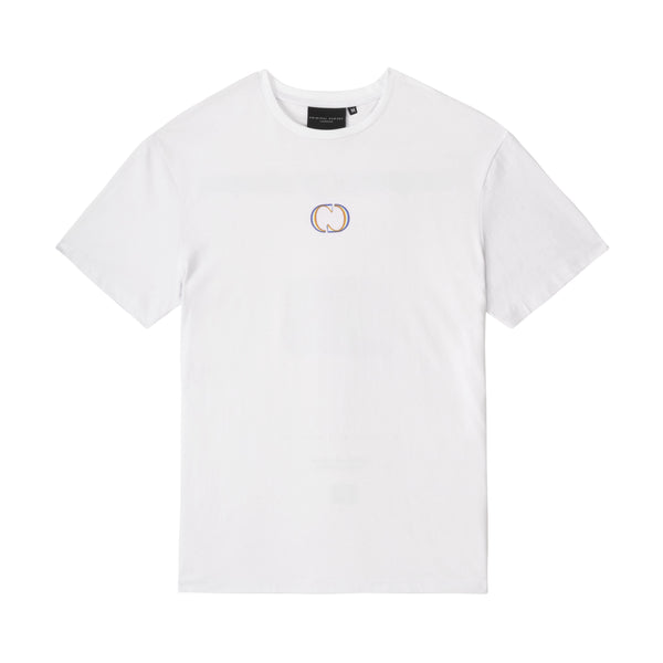 Criminal Damage Store T-SHIRT TEMPORARY CLOSURE TEE - WHITE