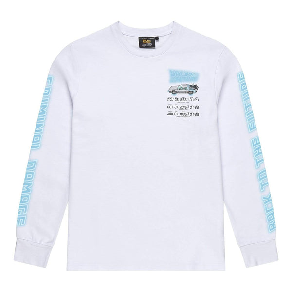 Time Code LS Top - White