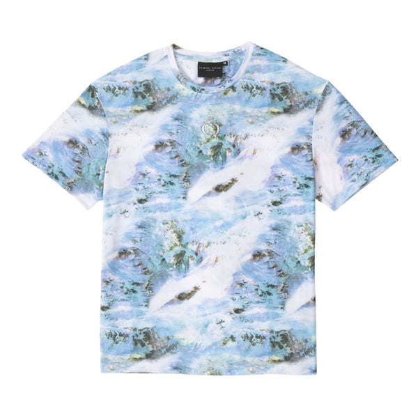 Criminal Damage Store T-SHIRT TOXIC TEXTURE TEE - MULTI