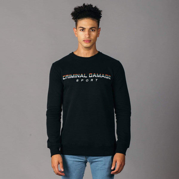 Guten tag Sweat - Black/Multi