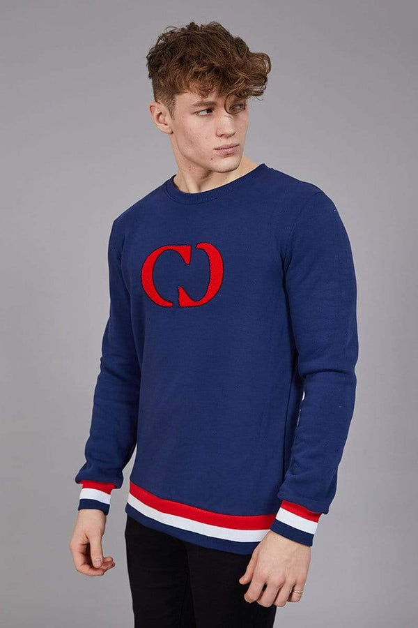 Criminal Damage SWEATSHIRT Irvine Sweat - Navy