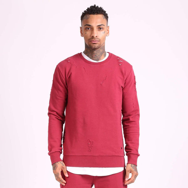 Shoreditch Sweater - Ruby Red