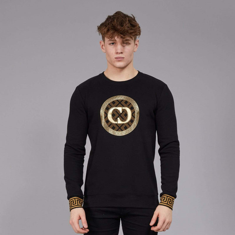 Verino Sweatshirt - Black/Gold