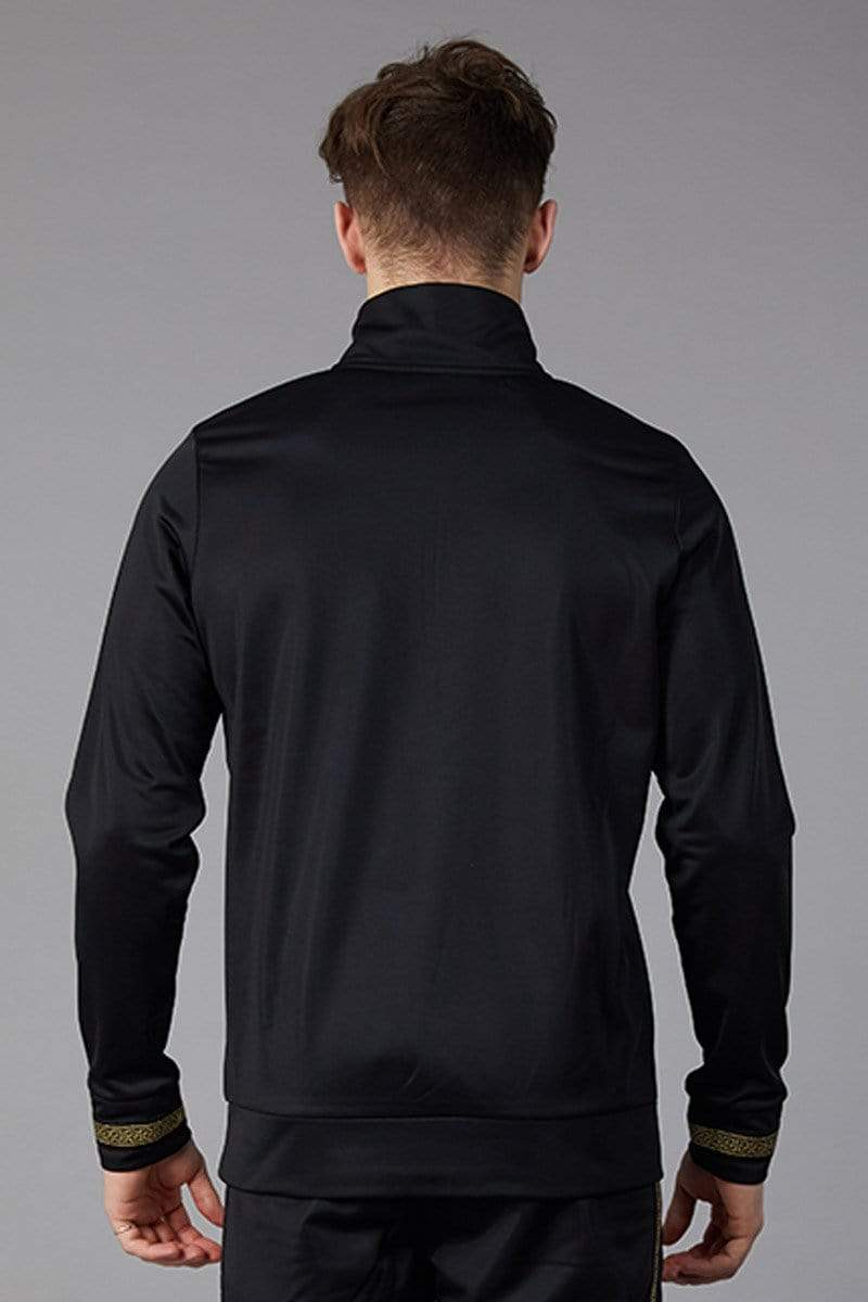 Criminal Damage SWEATSHIRT Verino Track Top - Black