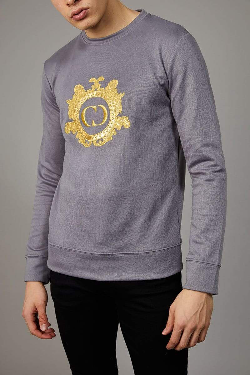 Criminal Damage SWEATSHIRT Wise Sweat - Grey