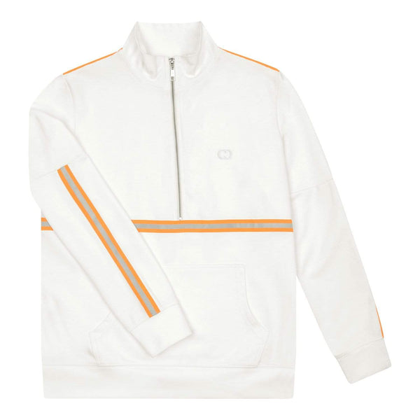 Wise Track Top - White / Reflective Orange