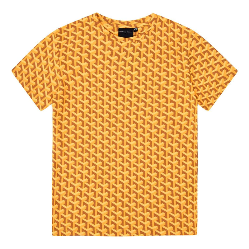 Kids Lourve Tee - Yellow